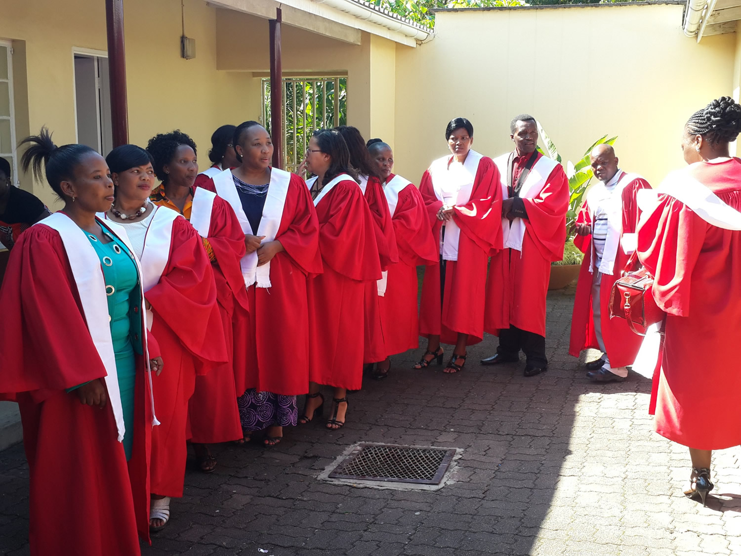 picture of graduates from the training program
